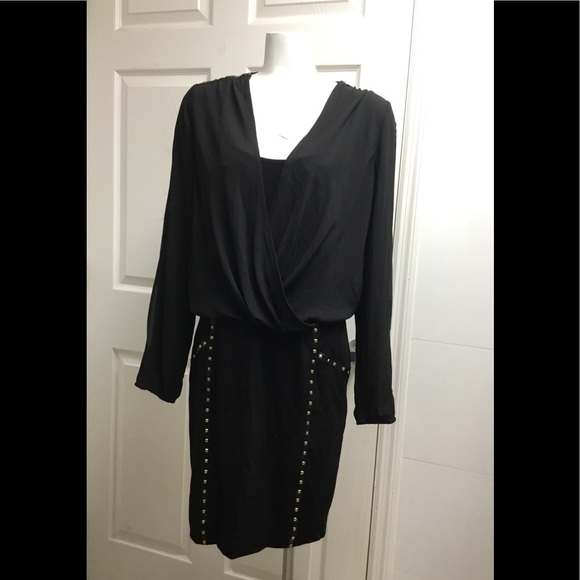 Cache Dresses & Skirts - NWT Cache black stud dress size 10 $168